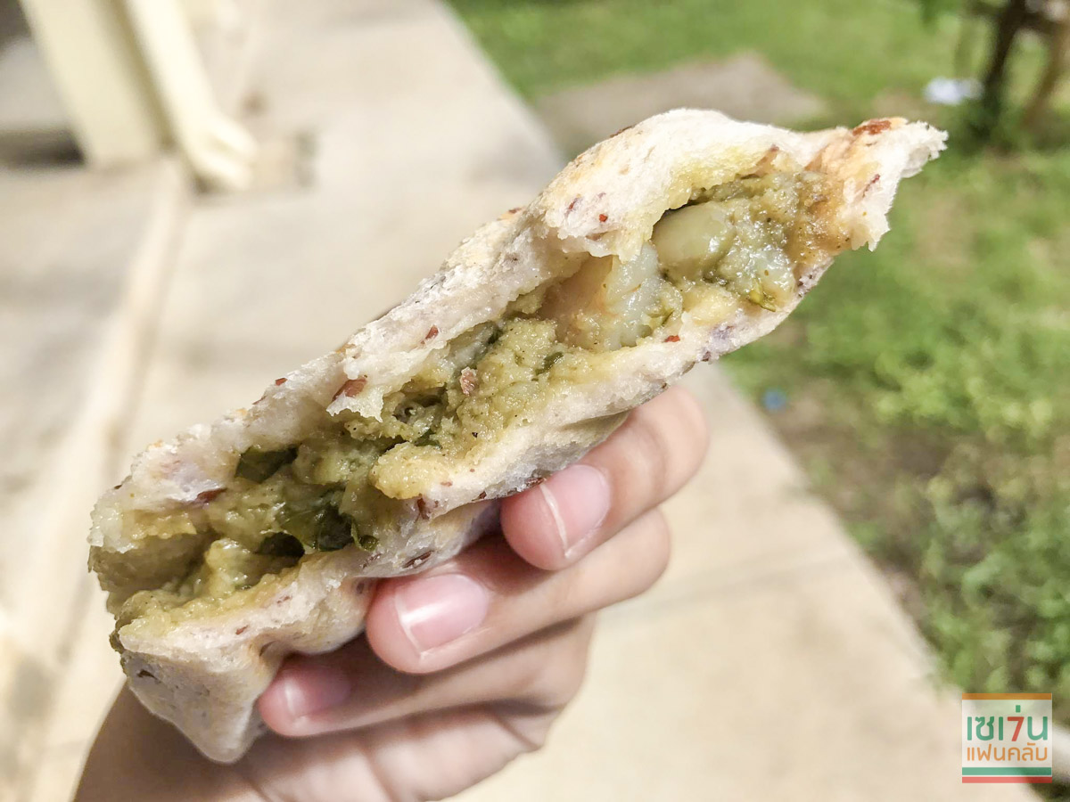 review green curry with shrimp sandwich-6